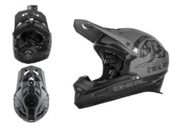 Biciklisticka-kaciga-ONEAL-Fury-RL-California-black-grey-experience-matulji