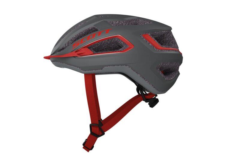 Biciklistička-kaciga-SCOTT-Arx-(CE)-dark-grey-red-experience-matulji-1