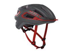 Biciklistička-kaciga-SCOTT-Arx-(CE)-dark-grey-red-experience-matulji