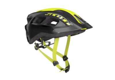 Biciklistička-kaciga-SCOTT-Supra-(CE)-black-radium-yellow-experience-matulji