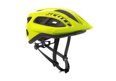 Biciklistička-kaciga-SCOTT-Supra-(CE)-yellow-flourescent-experience-matulji