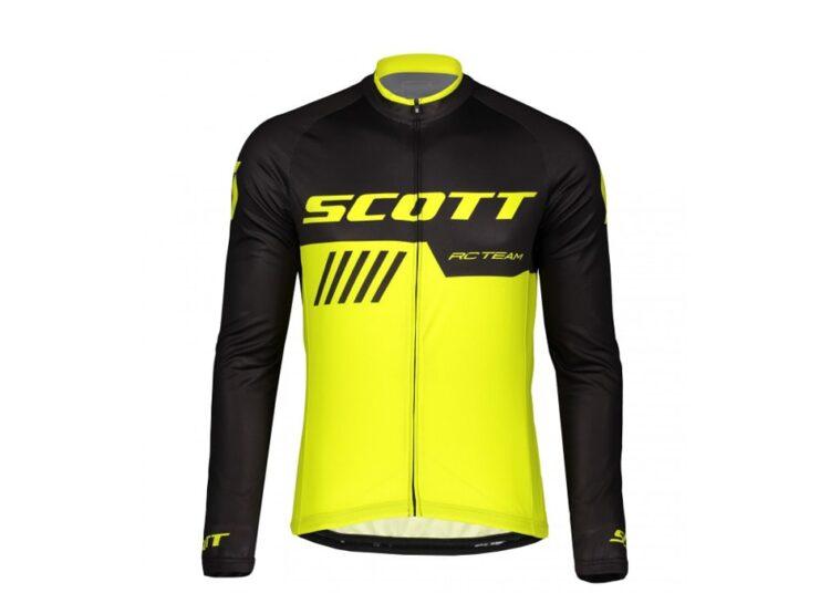 Biciklistička-majica-SCOTT-RC-Team-10-L-SL-black-sulphur-experience-matulji