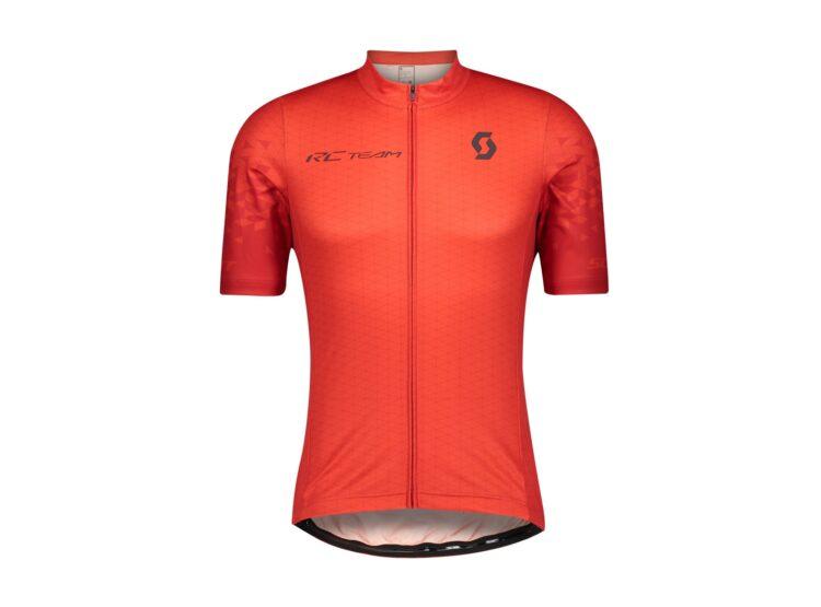 Biciklistička-majica-SCOTT-RC-Team-10-S-SL-fiery-red-dark-grey-experience-matulji
