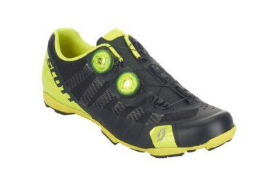 Biciklističke-cipele-Scott-MTB-RC-Ultimate-matt-black-gloss-neon-yellow-experience-matulji