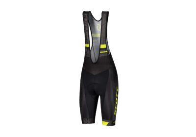 Biciklističke-hlačice-s-tregerima-SCOTT-RC-Team-black-sulphur-yellow-experience-matulji