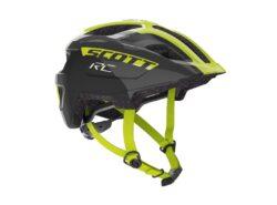 Biciklistička kaciga dječja SCOTT Spunto Junior (CE) black-radium yellow RC-experience-matulji