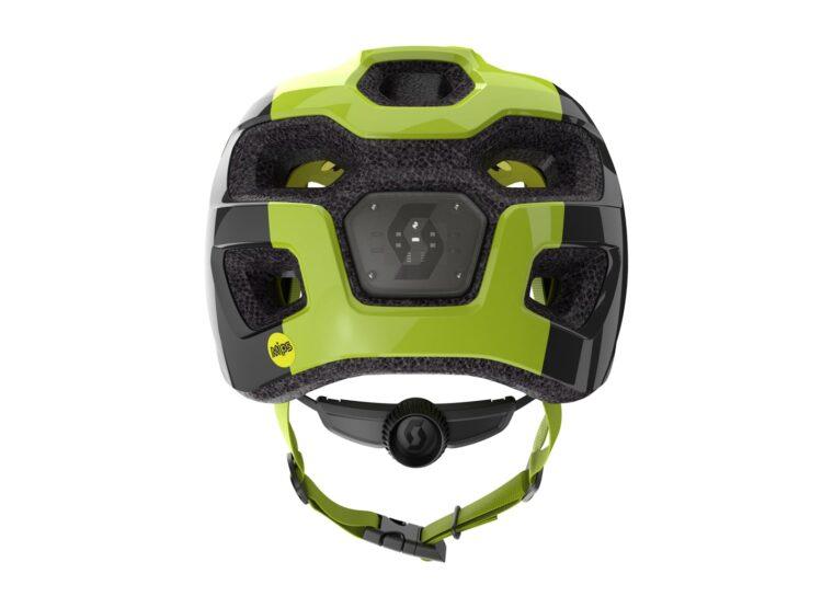 Biciklistička kaciga dječja SCOTT Spunto Junior (CE) black-radium yellow RC-experience-matulji-3