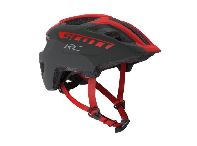 Biciklistička kaciga dječja SCOTT Spunto Junior (CE) grey-red RC-experience-matulji