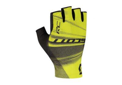 Biciklističke rukavice SCOTT RC Pro SF black-sulphur yellow-experience-matulji
